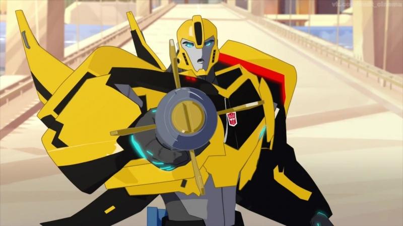 Трансформеры: Роботы под прикрытием 1 сезон 1-13 серии