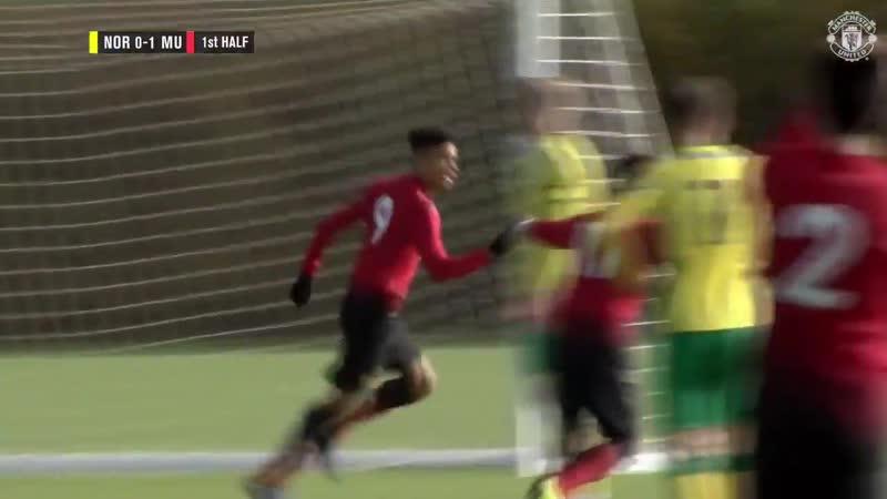 U-18 Norwich - Man United 0-3. Молодняк наказывает.