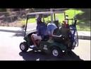 Justin Bieber, Ryan Good e Josh Mehl em um campo de golf em Los Angeles, CA (16/10)