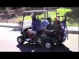 Justin Bieber, Ryan Good e Josh Mehl em um campo de golf em Los Angeles, CA (1610)