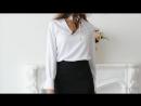 Стильные блузки с завязками