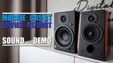 Mackie CR5 BT vs Edifier R1700BT Sound Demo w Bass Test
