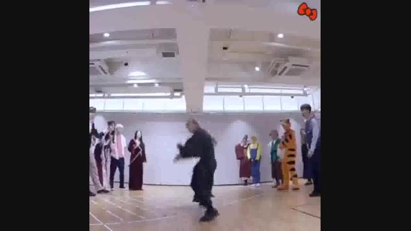 Witch's dance