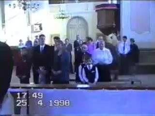 Я и брат на свадьбе сестры(1998г) лол)))