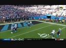 Seahawks at Panthers Christian McCaffrey 59 yd run