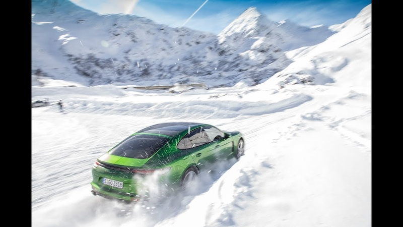 PORSCHE PANAMERA GTS that taste of fire in the snow