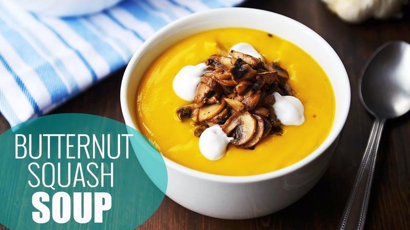 Best Butternut Squash Soup Recipe   Vegan Soup Recipes