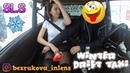 Зимнее Дрифт Такси с девушкой/Winter Drift Taxi with a girl/Drift/bezrukova_inlens /SLS