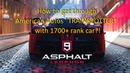 Asphalt 9 (WindowsPC) | Get through TRAINSPOTTER with low rank car! Easy way to get REP and CREDITS