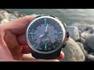 Seiko Astron Stratosphere SBXA033 time change from Japan time to YVR time (1)