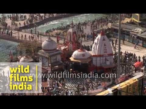 Kumbh Mela festival - Haridwar, India