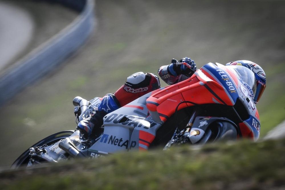 Результаты официальных тестов MotoGP 2018 в Брно