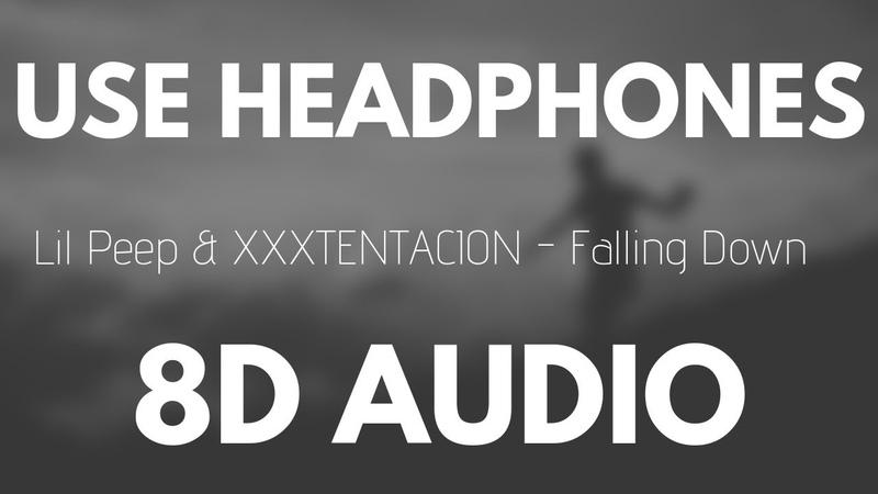 Lil Peep XXXTENTACION - Falling Down (8D AUDIO)