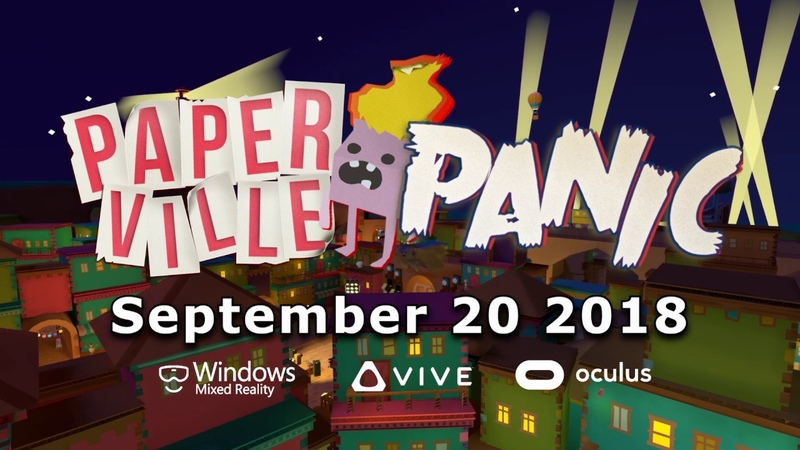 Paperville Panic OFFICIAL Release Trailer