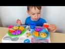 Учимся делиться с Егором Игровой набор Fisher Price из Будинка Іграшок распаковка обзор игрушек
