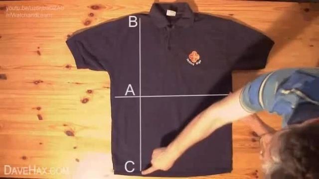 футболку за 2 секунды