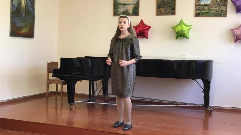 Малюк Екатерина (4 кл.) Скарлатти - O cessate di piegarmi