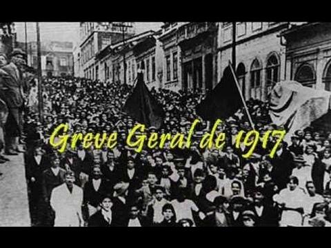 A Greve Geral Anarquista de 1917 - Deu n'A Plebe