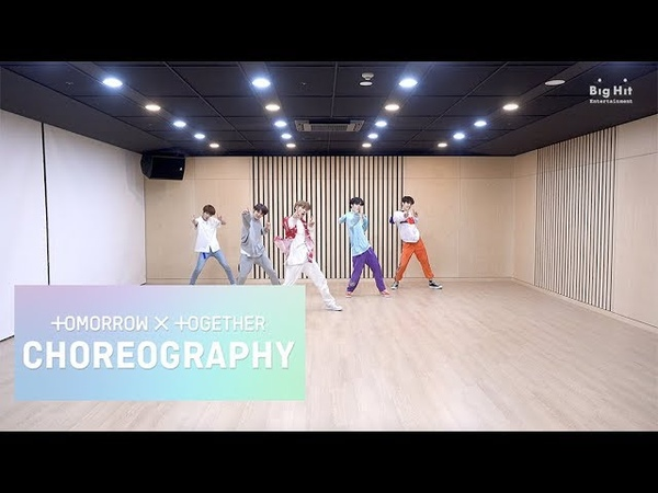 TXT (투모로우바이투게더) 'Blue Orangeade' Dance Practice