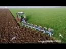 Fendt 1050 vario 8 furrow Lemken Diamant 11 On-Land Plough - KMWP Ploegen - Pflügen