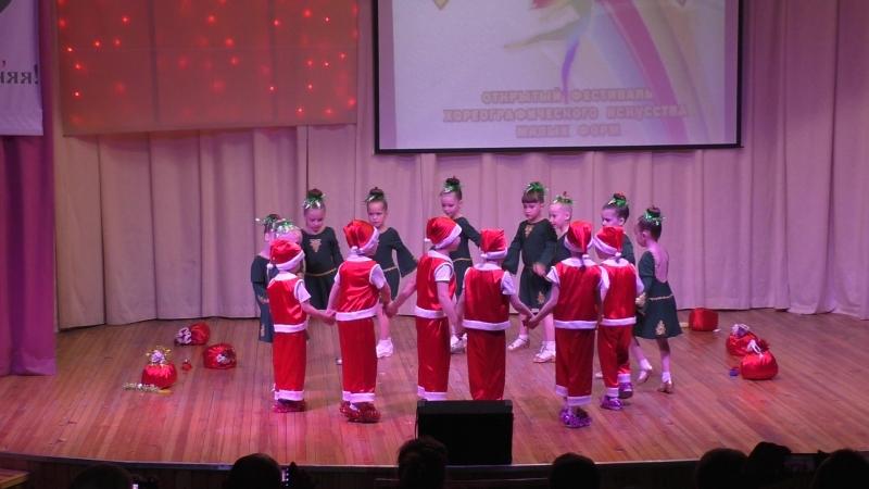 Новогодний переполох дедушки и елочки Школа танца ДансЛайф