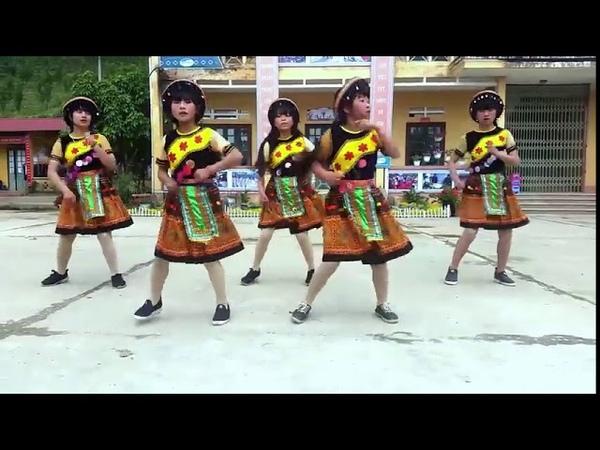 Điệu nhảy 24 bước Thung Lũng Hoa Bắc Hà, cực đẹp hấp dẫn