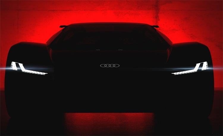 Audi покажет концепт-кар PB 18 e-tron с электрическим приводом.