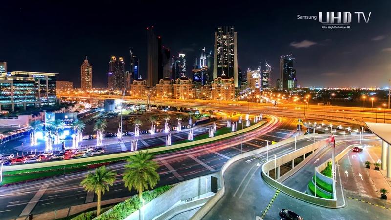 Дубай - Объединенные Арабские Эмираты 4К