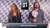 WWE Superstar Duos w Becky Lynch &amp AJ Styles - Smyths Toys