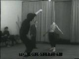 Занятия группы Н. Кустова в театре Сатиры (1973-74)