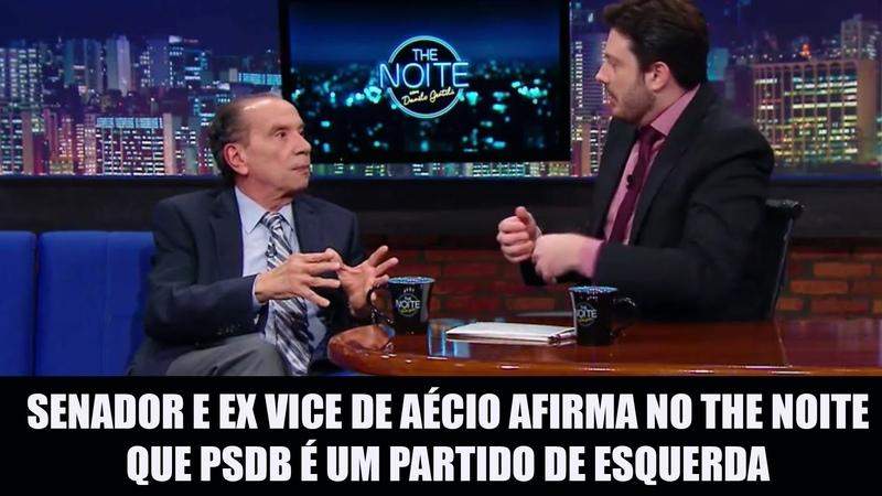 Senador e ex vice de Aécio afirma em entrevista que PSDB é um partido de esquerda