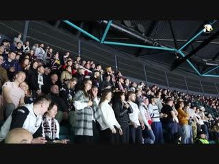 Болельщики «Трактора» на матче со «СКА»
