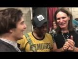Nuno Bettencourt, Steve Vai, Vernon Reid and Derek Day backstage (29.09.18)
