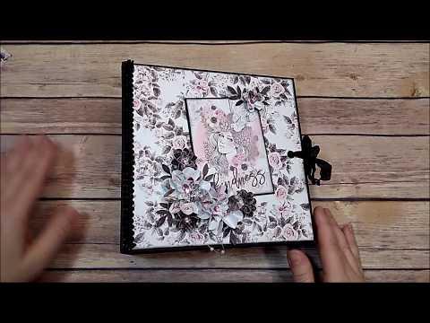 Prima Rose Quartz Chunky 5 Page Mini Album