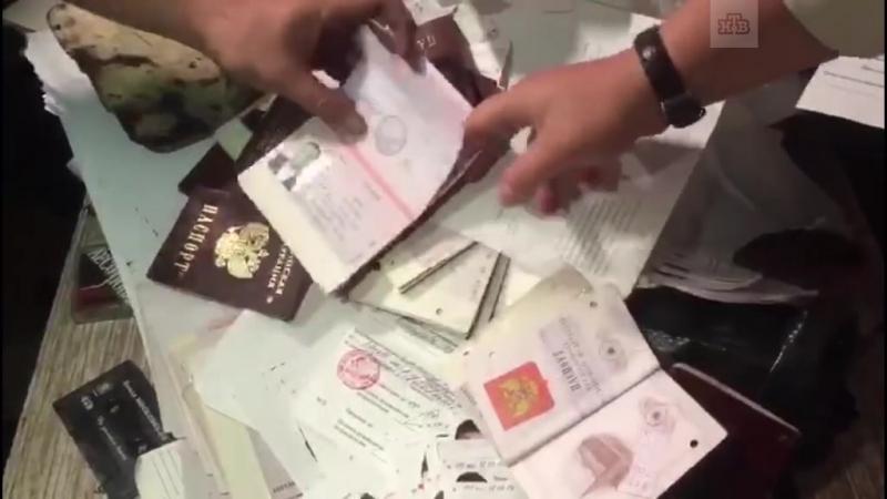 В Москве нашли бывшее здание ФМС с брошенными паспортами