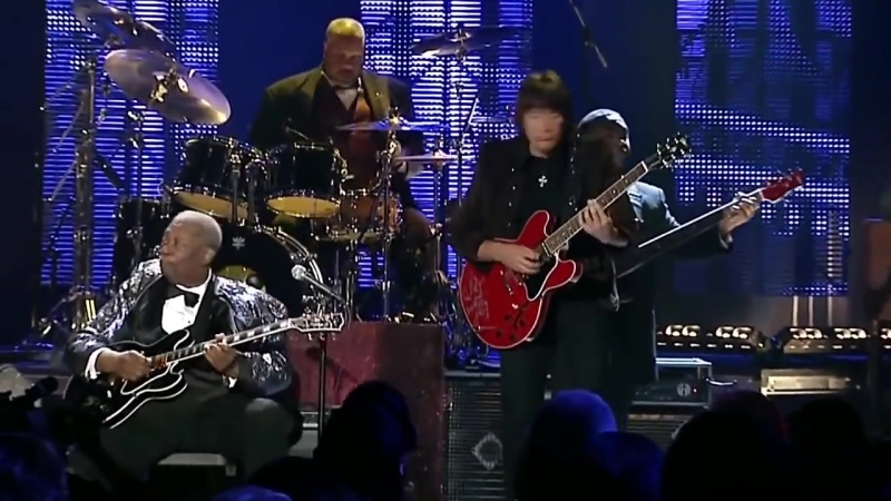 B.B. King with Richie Sambora - The Thrill Is Gone