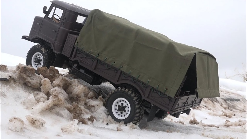 ШИШИГА с новым тентом на радиоуправлении ... RC truck GAZ-66