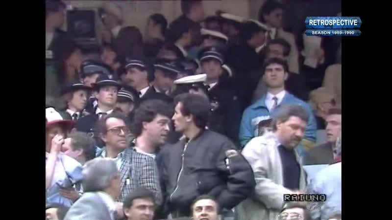 Coppa 1989-90, Final, AC Milan - Juve