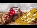 Dakar 2019 Incredible truck jump Dakar2019