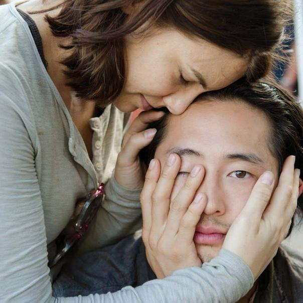 Мэгги и Гленн «Ходячие мертвецы» (2010...)