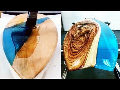 Unique Wood Resin! Natures Beauty Pearl Surf Culture!