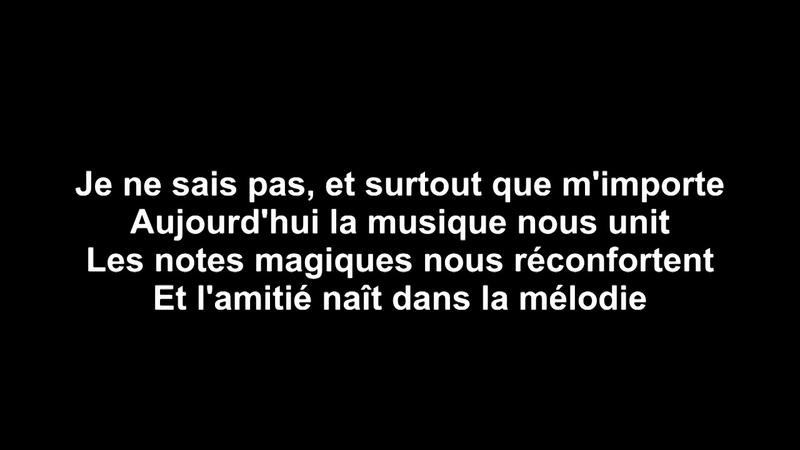 UN DIMANCHE EN HIVER (Chanson d'Amour d'Amitié) - FRANCOIS VILLE - MAUD CHAVET- GABE - MASTERLAB