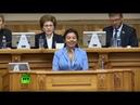Пленарное заседание «Женщины за устойчивое развитие глобального мира» — LIVE