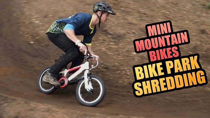 MINI MOUNTAIN BIKES - BIKE PARK SHREDDING