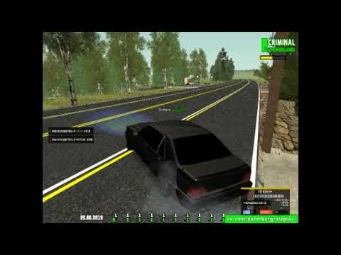 GTA 3 КРМП Mercedes Benz Brabus 7 3S W140 Кабан в деле тюнинг