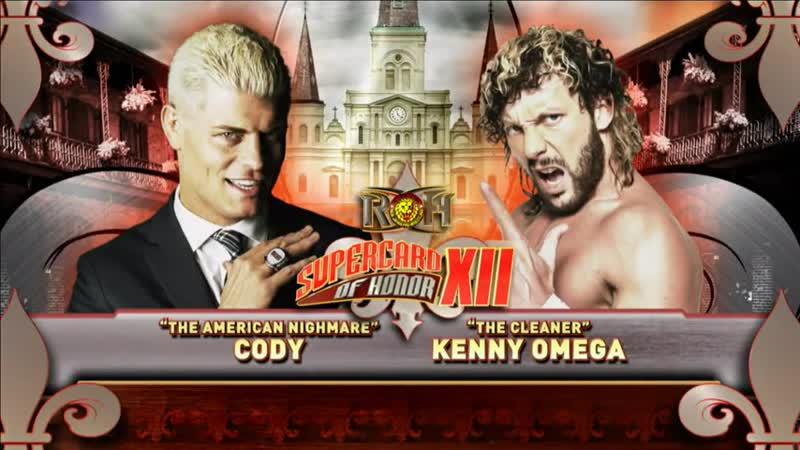 Cody vs. Kenny Omega