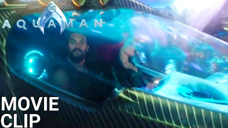 Aquaman - Welcome to Atlantis 1080p Movie Clip