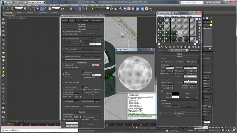 Mastering Vray in 3ds Max - Lesson 4 - Advanced Materials Part 1