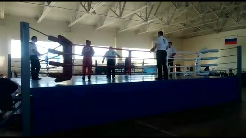 Чемпионат Росси в городе Медынь - Евгения Покачалова (бой)