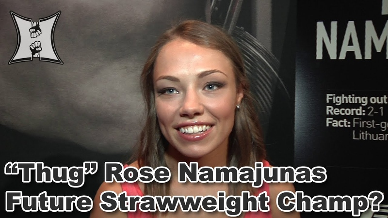 TUF 20's Rose Namajunas Predicts Pat Barry's Descent Into Craziness